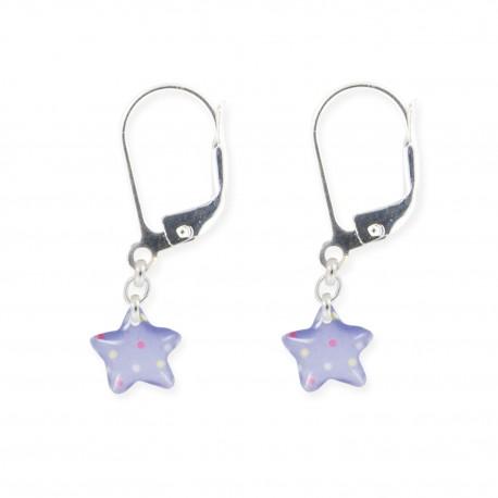 dormeuses étoile Ribambelle bijoux enfants fille