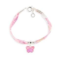 Bracelet Liberty 10mm papillon