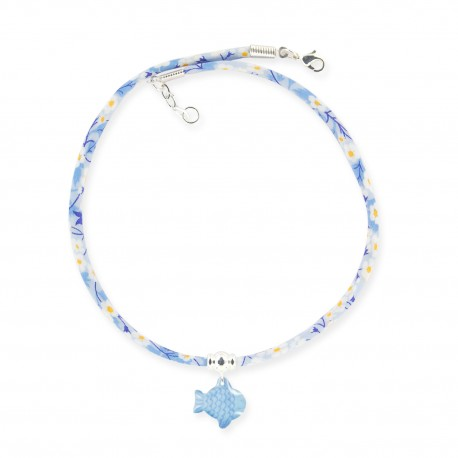 collier liberty poisson Ribambelle bijoux enfants fille