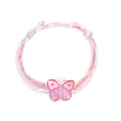 Bracelet Liberty coulissant papillon