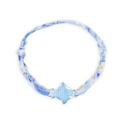 Bracelet Liberty coulissant poisson