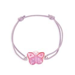 Bracelet lacet papillon