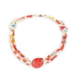 Bracelet Liberty coulissant coccinelle