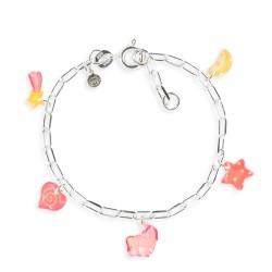 Bracelet figaro licorne