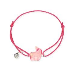 Bracelet lacet bébé licorne