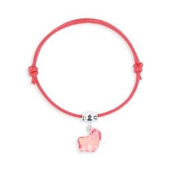 Bracelet lacet breloque licorne