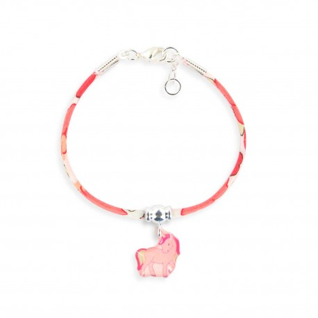 3 bracelets Liberty licorne