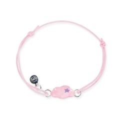 Bracelet lacet bébé nuage