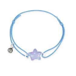 Bracelet lacet bébé étoile