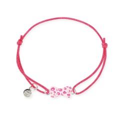 Bracelet lacet bébé noeud