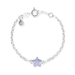Bracelet chaîne bébé étoile