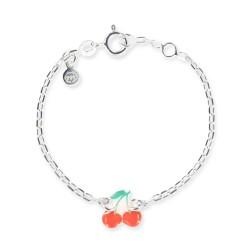 Bracelet chaîne bébé cerise