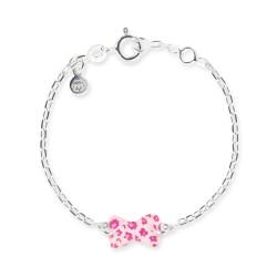 Bracelet chaîne bébé noeud