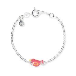 Bracelet chaîne bébé oiseau