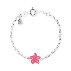 Bracelet chaîne bébé étoile de mer
