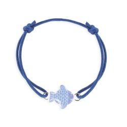 Bracelet lacet poisson