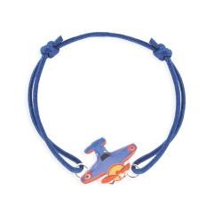 Bracelet lacet avion