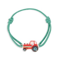 Bracelet lacet tracteur