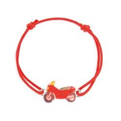 Bracelet lacet moto