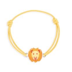 Bracelet lacet lion