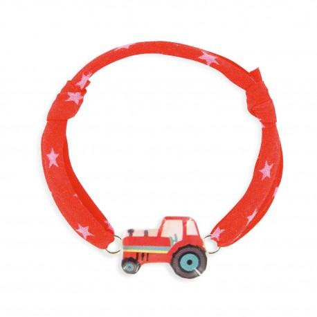 Bracelet cordon 7mm tracteur