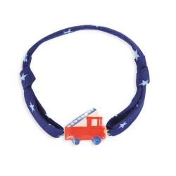 Bracelet cordon 7mm camion de pompier