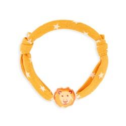 Bracelet cordon 7mm lion