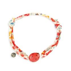 Bracelet Liberty bébé coccinelle