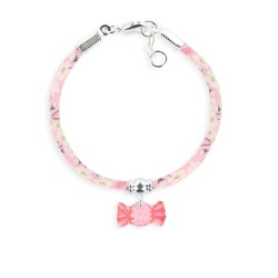 Bracelet Liberty 4mm bonbon