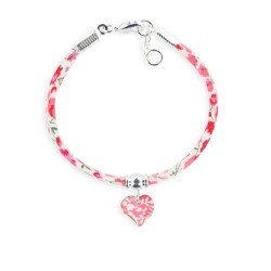 Bracelet Liberty 4mm coeur