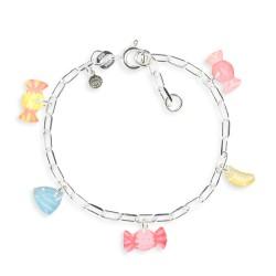 Bracelet figaro bonbon