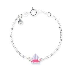 Bracelet chaîne bébé bateau
