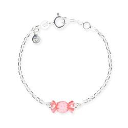 Bracelet chaîne bébé bonbon