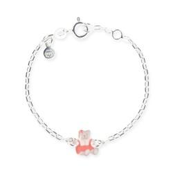 Bracelet chaîne bébé ourson