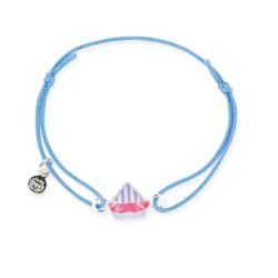Bracelet lacet bébé bateau