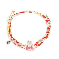 Bracelet Liberty bébé ourson